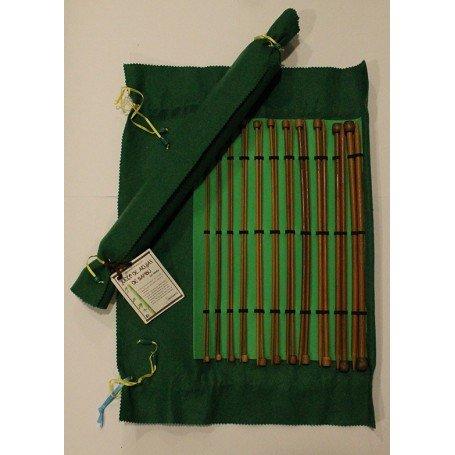 Juego Agujas de Bambú