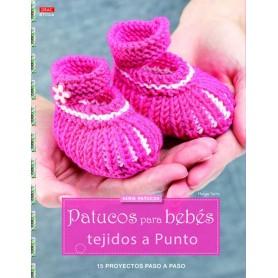 Patucos para Bebé tejidos a Punto