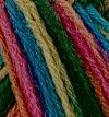 Violeta 04 multicolor con azul y rosa