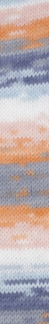 Peques Plus 61 naranja-blanco-azul