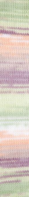 Peques Plus 62 verde-blanco-naranja-malva