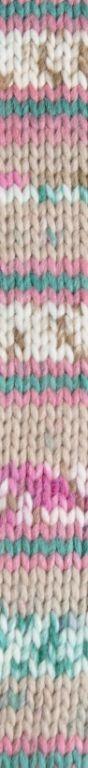 Croquis 84 beige-rosa claro-verde claro