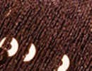 Paillettes 2907 marrón con lentejuelas cobre