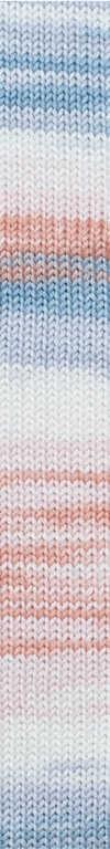 675 Naranja salmón-Blanco-Gris claro