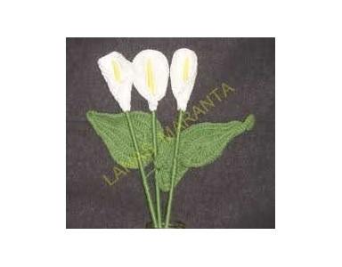 Crochet Calla Flower